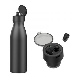 EarBottle. Botella con auriculares